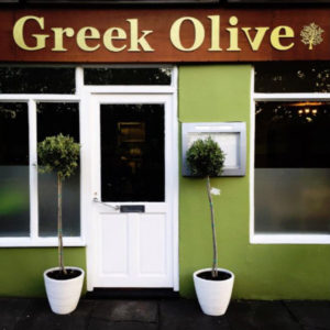Nearby eateries - Greek Olive