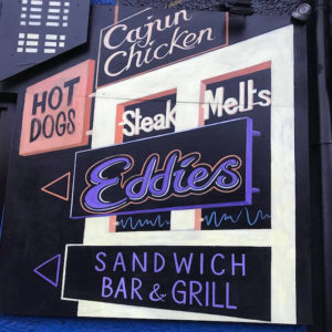 Nearby eateries - Eddies Bar & Grill