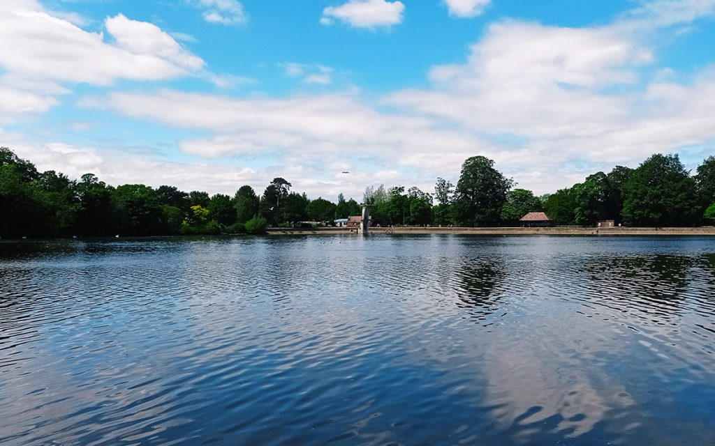 A day out in Swindon - Coate Water Country Park