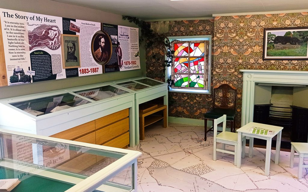A day out in Swindon - displays inside the Richard Jeffries Museum