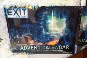 Escape room advent calendar
