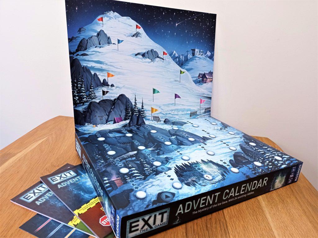 EXIT advent calendar open